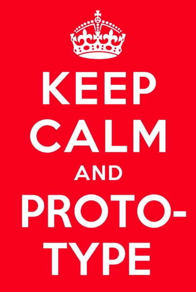 Keepcalm and prototype small