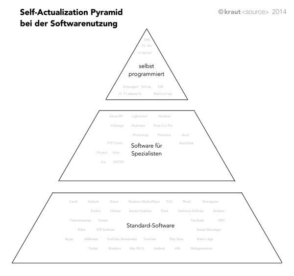 Self Actualization softwarewise