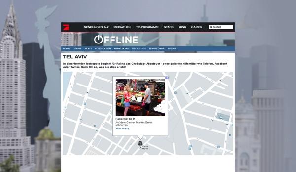 Offline karte google maps api tel aviv