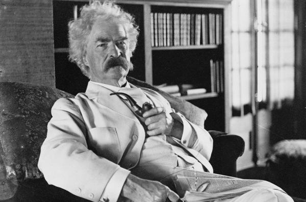 Das wäre Mark Twain
