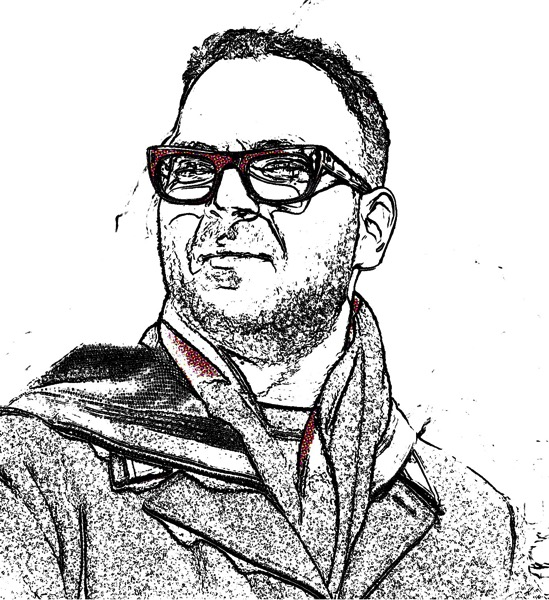 Cory doctorow comic style