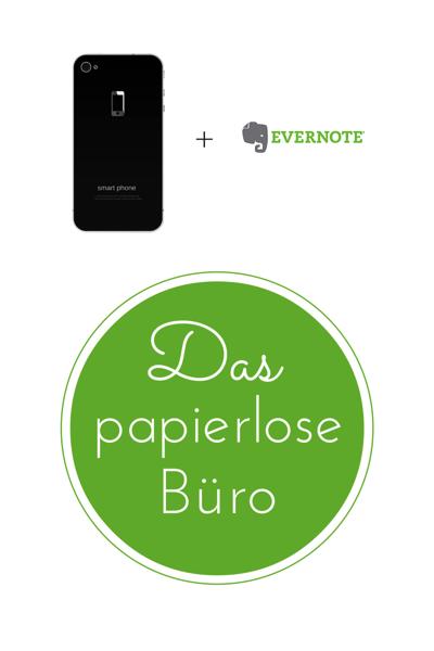 Das papierlose Büro mit Evernote