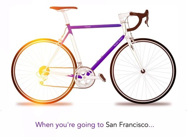 San Francisco Fahrrad