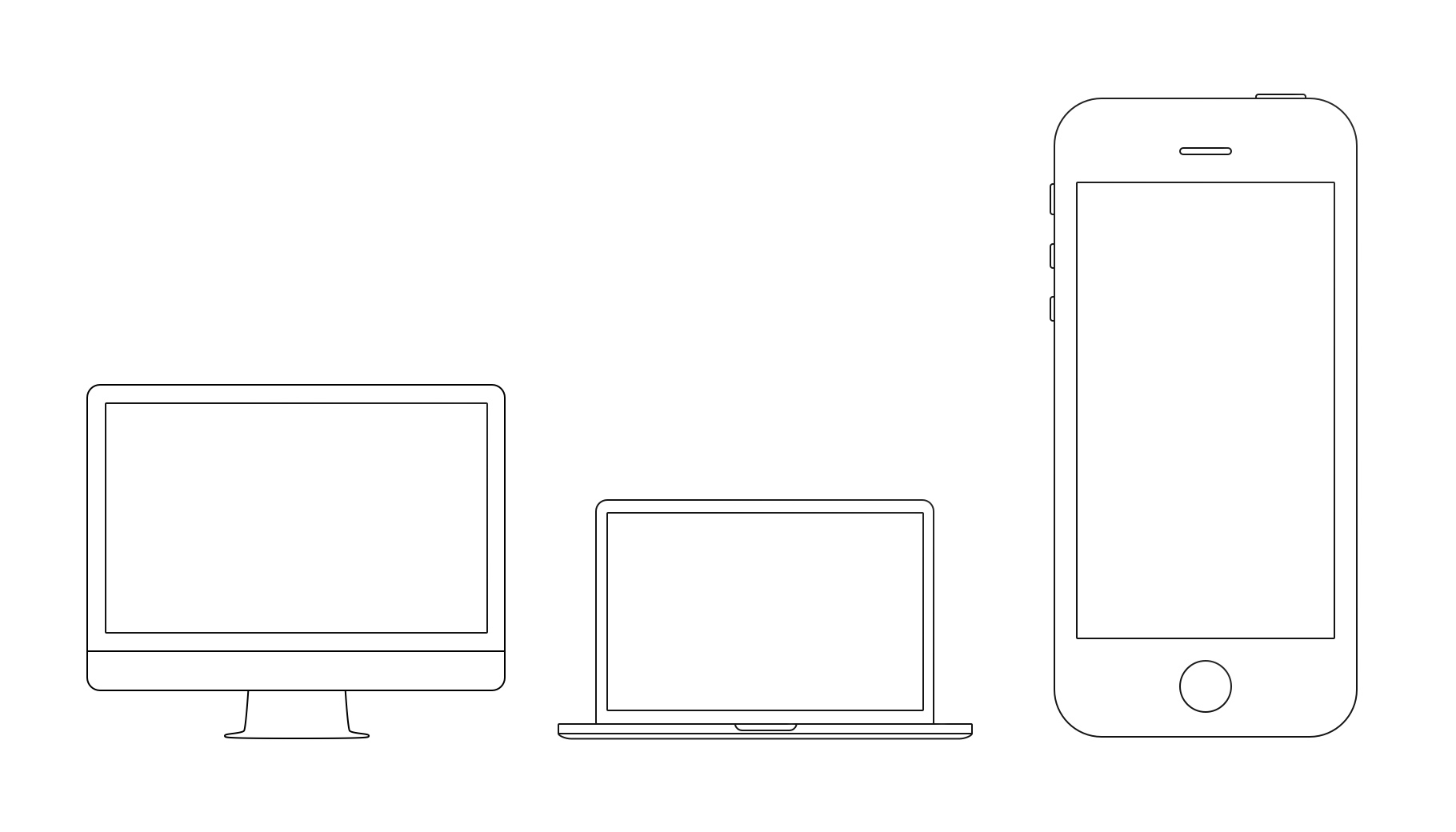 Apple devices outline