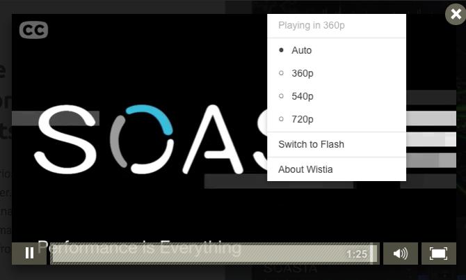 Wistia Player Soasta Overlay